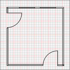 Draw A Floor Plan To Scale. Interior Design SketchesHouse ...