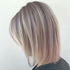 """Peek-a-Hue Blonde ... """"NEW #paulmitchell #opalesent pop gives off a nice subtle hue of violet."""" -  @amandasweetin_arcs - AMANDA...this is gorgeous, thank-you for tagging #behindthechair! ;) #paulmitchellpop #robertcromeanssalon #blonde @paulmitchellus #pmlife #paulmitchellthecolor #shadowblonde"""
