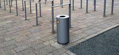 Stadtmobiliar, public design, Abfallbehälter, Ascher, Waste receptacles & ashtrays
