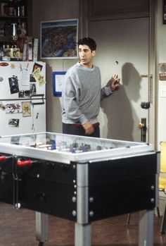 Friends ~ Episode Photos ~ Season 3, Episode 19: The One with the Tiny T-Shirt #amusementphile