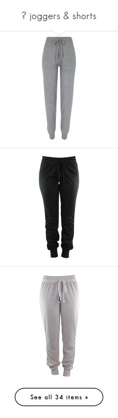 """""""✈ joggers & shorts"""" by delinquents ❤ liked on Polyvore featuring activewear, activewear pants, light grey marl, ivy park sportswear, jogger sweatpants, logo sweatpants, marled sweatpants, sweat pants, bottoms and pants"""