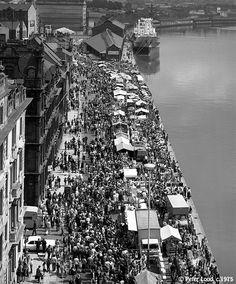 Quayside Market, Newcastle upon Tyne, c.1975