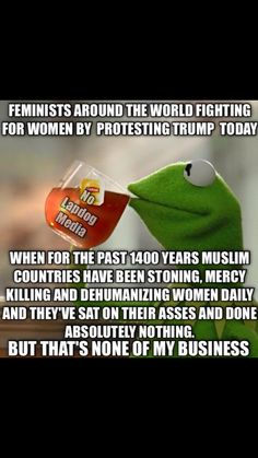 Oh and we won't even mention genital mutilation. Wake the hell up you stupid asses! Liberal Hypocrisy, Liberal Logic, Conservative Politics, Milk Products, Liberalism, Facts, Kermit, Thoughts, Shit Happens