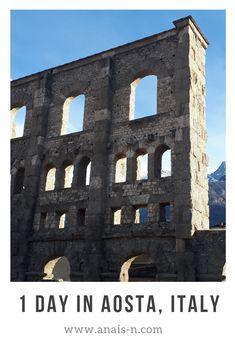 Day trip to Aosta, Italy