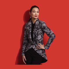 Vogue+V8601+Jackets+Pattern+Princess+Seams+Peplum+by+CynicalGirl,+$20.00
