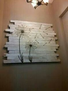 My next project. I have the reclaimed wood; just need the decals from Amazon and chalk paint from the craft store