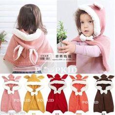 JP Kids Fleece Combi Baby Coat Babe Cloak Outwear Cape Baby Coat Clothing