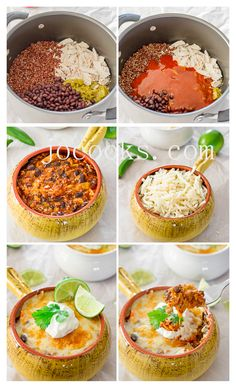 Chicken Enchilada Quinoa Bake - gluten free | Jo Cooks