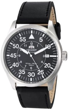 Orient Men's FER2A003B0 Flight Stainless Steel Watch with Black Leather Band Orient http://www.amazon.com/dp/B00I364JC8/ref=cm_sw_r_pi_dp_wXT8wb0EQXKCD