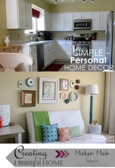 Create a Meaningful Home: Shannon of Madigan Made gives us a tour of how she has thoughtfully created a meaningful home. See the entire series at www.sasinteriors.net