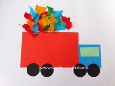 TRANSPORTATION THEME community helpers- garbage man - love this! also great for transportation preschool theme Preschool Transportation Crafts, Transportation Theme, Preschool Crafts, Easy Crafts, Crafts For Kids, Daycare Crafts, Toddler Crafts, Community Helpers Crafts, Truck Crafts