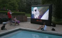 Open Air Cinema 9' x 5' Home Screen Theater System
