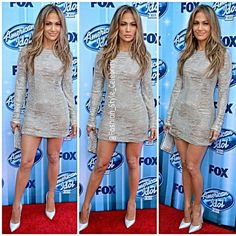 #jenniferlopez #fashion #stylish #style #look #lookbook #twins #marcanthony #fashionista #legs #heels #christianlouboutin #louboutin #sandals #realityshow #judge #blonde #brunette #onthefloor #music #dance #worldcup2014 #dress... - Celebrity Fashion