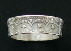 Silver Coin Ring 1914 Ottoman Empire 5 Kurus  by GlobalCoinJewelry, $49.99