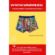 UNDIS www.undis.eu Bunte, lustige und witzige Boxershorts & Unterhosen im Partnerlook für Männer, Frauen und Kinder. #undis #bunte #kinderboxershorts #lustigeboxershorts #boxershorts #frauenunterwäsche #männerboxershorts #männerunterwäsche #herrenboxershorts #kinder #bunteboxershorts #unterwäsche #handgemacht #verschenken #familie #partnerlook #mensfashion #lustige #valentinstaggeschenk #geschenksidee #eltern #vatertagsgeschenk Bunt, Funny Underwear, Briefs, Men's Boxer Briefs, Man Women, Sew Gifts, Parents, Boys