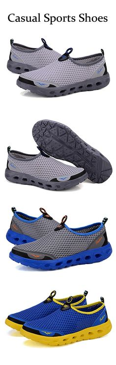 US$23.99+Free shipping. Men's Casual Shoes, Sports Shoes, Hollow Out, Breathable, Slip-On, Comfortable. Color: Blue, Dark Gray, Light Gray.