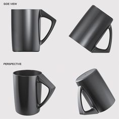 The Bevel Cup... solves the problem of storing a mug to avoid germs and dust.  such a simple and great idea!