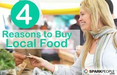 4 Good Reasons to Buy Local Food | SparkPeople