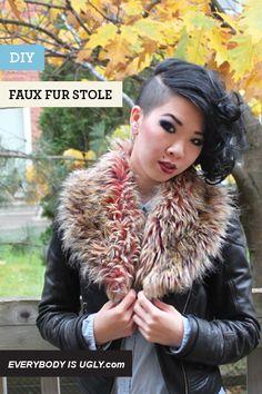 via: http://www.chictopia.com/photo/show/541330-DIY+FAUX+FUR+STOLE-peach-faux-fur-stole-scarf