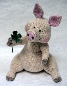 "Good Luck Pig Hey ya know I love me some lil piggies, tooo cute, right?  I said, ""right?!""  lol"
