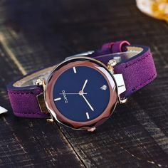 The Purple Voyager - S Edition Free worldwide shipping . . . . . .   Simple watch for women