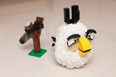 LEGO Angry Birds created by Chiukeung
