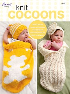 Knitting - Patterns for Children & Babies - Cocoon Patterns - Knit Baby Cocoons Pattern