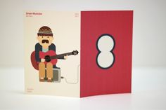 The visualization of street musician's identity by Jahng Hyoung joon, via Behance