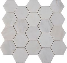MSI Stone ULC Grecian White Hexagonal 12-inch x 12-inch Polished Marble Mesh-Mounted Mosaic Tile (10 sq. ft./case) | The Home Depot Canada
