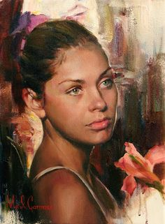 """She's just """"Coming of Age"""", but her expression says the future is going to Rock.  Michael & Inessa Garmash."""
