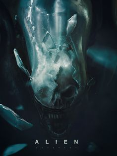 Alien Covenant  1.8 hours, MICHAEL CHANG on ArtStation at https://www.artstation.com/artwork/1O9VZ