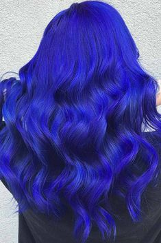 41 Ethereal Looks With Blue Hair Read on to discover trendy and unconventional light-blue, dark-blue, electric blue, blue-green, blue-purple hair Blue Purple Hair, Hair Color Blue, Cool Hair Color, Blue Green, Bright Blue Hair, Royal Blue Hair, Electric Blue Hair, Electric Light, Pelo Color Azul