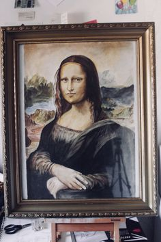 Mona Lisa by Jalil Rez by watercolor
