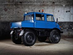 Unimog is a range of multi-purpose auto four-wheel drive medium trucks produced by Mercedes-Benz, a division of Daimler AG. In the United States and Canada, the Unimog was sold as the Freightliner Unimog.