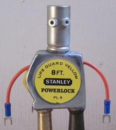 Stanley the Found Object Robot. 24.99, via Etsy.