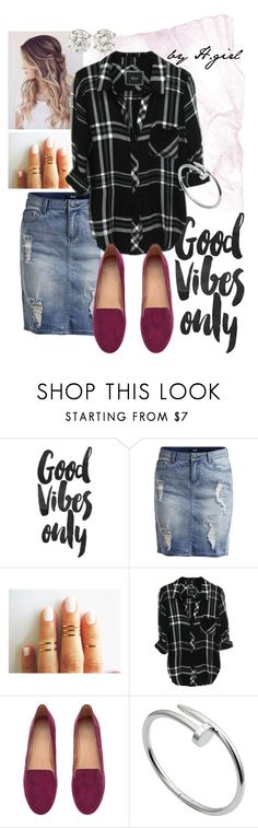"""Good Vibes"" by mollyhildebrand5 ❤ liked on Polyvore featuring Object Collectors Item, H&M, Cartier, women's clothing, women, female, woman, misses and juniors"
