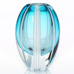 Waterford Aqua Vase: I don't NEED this........................sigh....