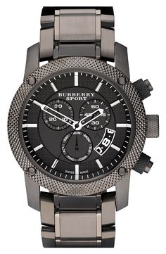 Main Image - Burberry Chronograph Bracelet Watch