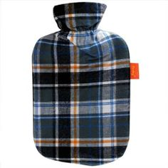 Grey Plaid Water Bottle 2l water bottle by Fashy by Fashy. $25.95. Fashy has been making high quality hot water bottles since 1986. This classic home remedy has a variety of uses and benefits:Soothes aches and pains related to sports injury, menstrual cramps, arthritis and pulled musclesChases away chillsEases stressHelps you fall asleep faster and get a good night`s restSoothes earachesBring extra warmth anywhere you need it: in the car, while camping or traveling, outdo...