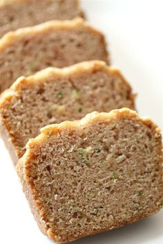 Coconut Oil Zucchini Bread