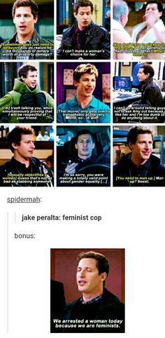 Stupid Funny Memes, Funny Relatable Memes, Funny Quotes, Hilarious, Fandoms, Brooklyn Nine Nine Funny, Jake Peralta, Parks N Rec, Film Serie