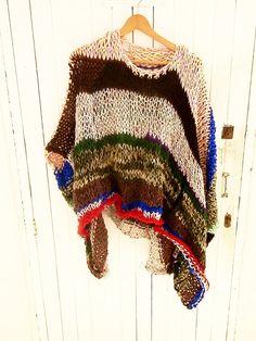 Jersey multicolor por armarioenruinas en Etsy