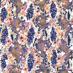 The Matthew Williamson Blossom Snake Print.