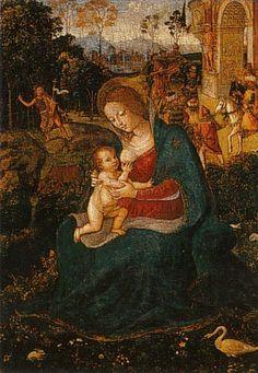 Pinturicchio-Madonna del Latte