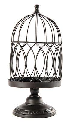BIRDCAGE+PLANTER+:+<p>Metal+birdcage+planter.</p>
