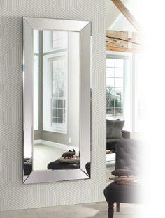 ESPEJO VESTIDOR EN ESPEJO DIS-ARTE. Espejo de cristal decorativo con espejo moderno para dormitorio o salón.