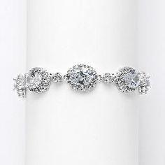 Bridal Bracelets - bridal jewelry vintage handmade