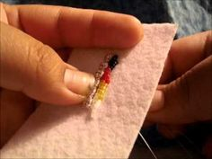 How to: Bead Native American Beadwork, Earrings, 3