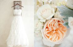Peach And Pink Wedding Colors | Gonul's blog: vintage wedding decorating ideas We decided to add a ...