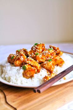 Crispy Honey Sesame Chicken